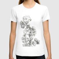 study T-shirts featuring Flower Study by Trisha Thompson Adams