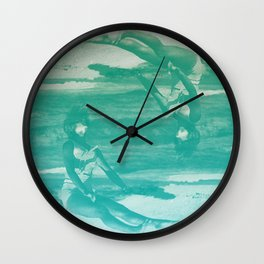 And Then Nothing Turned Itself Inside-Out Wall Clock