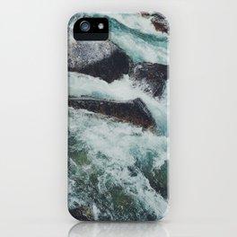 Glacial Rapids iPhone Case