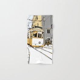 Lisboa Train Hand & Bath Towel