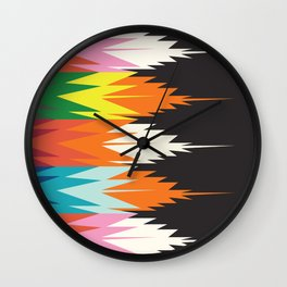 American Native Pattern No. 123 Wall Clock