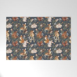 Woodland Dreams Welcome Mat