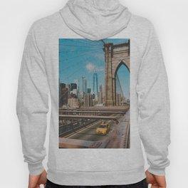 The Bridge in New York City (Color) Hoody