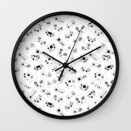 The world of controls Wall Clock