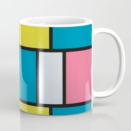 Mondrian in Motion Coffee Mug