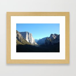 """Blue skies, smiling at me..."" Framed Art Print"