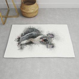 Koala Bear Art Rug