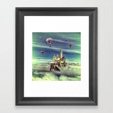 Laputa - Castle in the Sky Framed Art Print