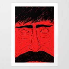 Close up Art Print