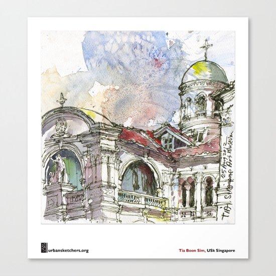 "Tia Boon Sim, ""The Singapore Art Museum"" Canvas Print"