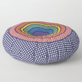 Recurring thought 2 Floor Pillow