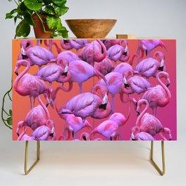 Flamingos Sunrise Credenza