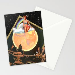 She Lived in Venus Stationery Cards