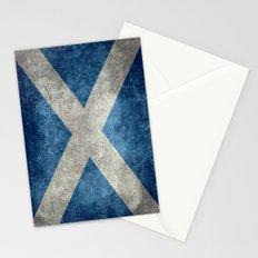 Flag of Scotland, Vintage Retro Style Stationery Cards
