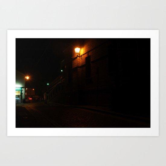 Evening Lights 6 Art Print