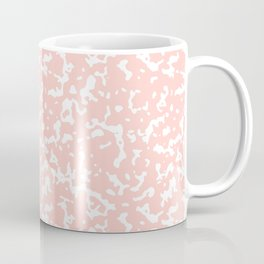 Pink and White Composition Notebook Coffee Mug