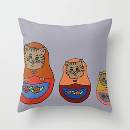 Daisyoshka Throw Pillow