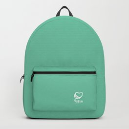 Vegan from the heart Backpack