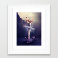 evolution Framed Art Prints featuring Evolution by Kryseis Retouche