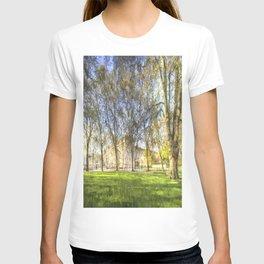 Buckingham Palace Art Panorama T-shirt