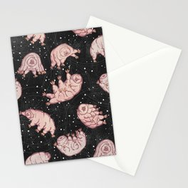Tardigrades in Space Stationery Cards