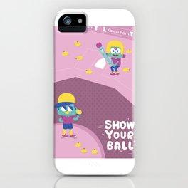 chuchuporn-show your balls iPhone Case