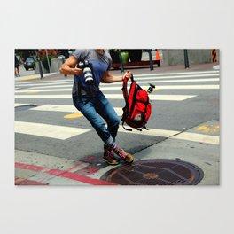 A Travelin' Man Canvas Print