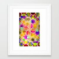 candy Framed Art Prints featuring Candy by SensualPatterns