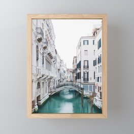 The Floating City - Venice Italy Architecture Photography Framed Mini Art Print
