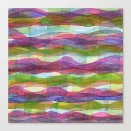 Infinte Waves Canvas Print