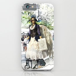 Love One Another - Steampunk Angel iPhone Case
