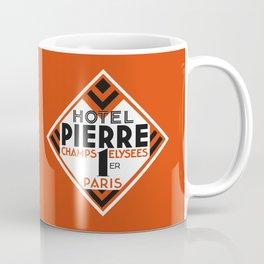 Hotel Pierre Paris Art Deco Coffee Mug