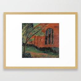 Alexej von Jawlensky 1864-1941 KIRCHE IM PREROW (CHURCH IN PREROW) Framed Art Print