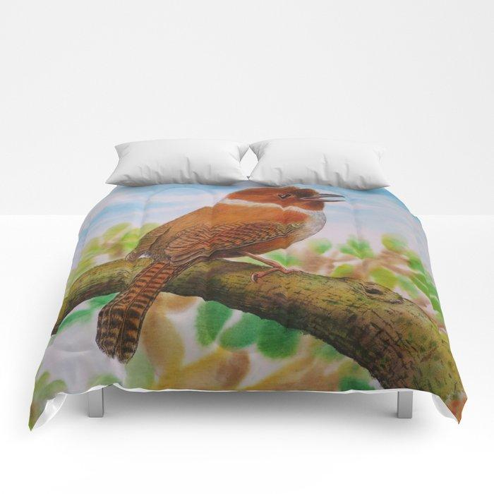 A Brown Bird Comforters