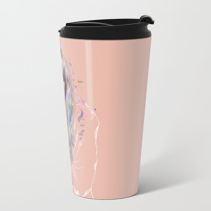Faded Metal Travel Mug