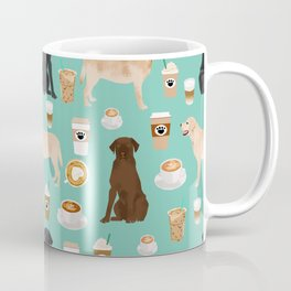 Labrador retriever gifts for lab owners golden retriever chocolate lab black lab dog breeds Coffee Mug