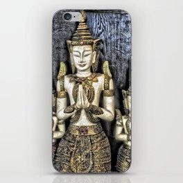 3 Buddhas iPhone Skin