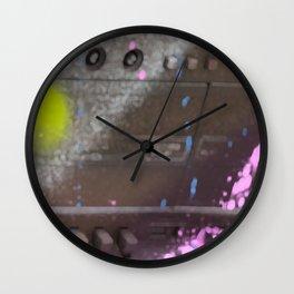 Radio Cassette Recorder Sprayed Wall Clock