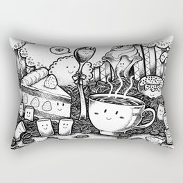 Smile coffe Rectangular Pillow