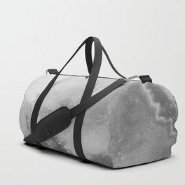 Mountain Views b/w Duffle Bag