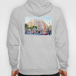 La Pedrera Barcelona Hoody