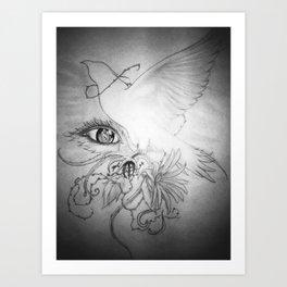 LUMES Art Print