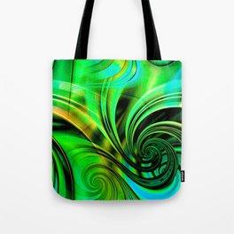 Curls Deluxe Green Tote Bag