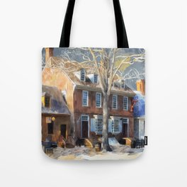 As Winter Melts Into Spring Tote Bag