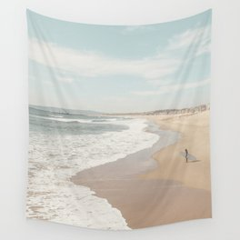 California Beach Wall Tapestry