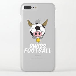Swiss Football World cup Soccer Championship world champion ball Clear iPhone Case
