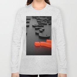 3D The Question Mark Long Sleeve T-shirt