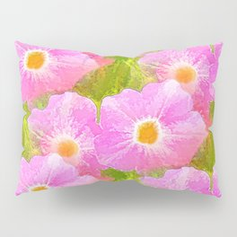 Flowers In The Grass Pillow Sham