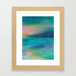 Ocean Sunrise Series, 4 Framed Art Print