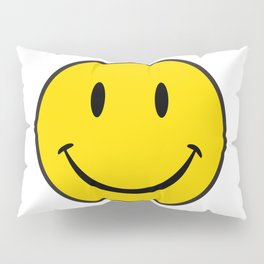Smiley Happy Face Pillow Sham